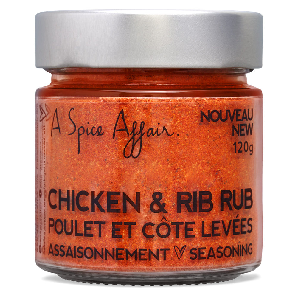 Chicken & Rib Rub A Spice Affair. 120g (4.2 oz) Jar