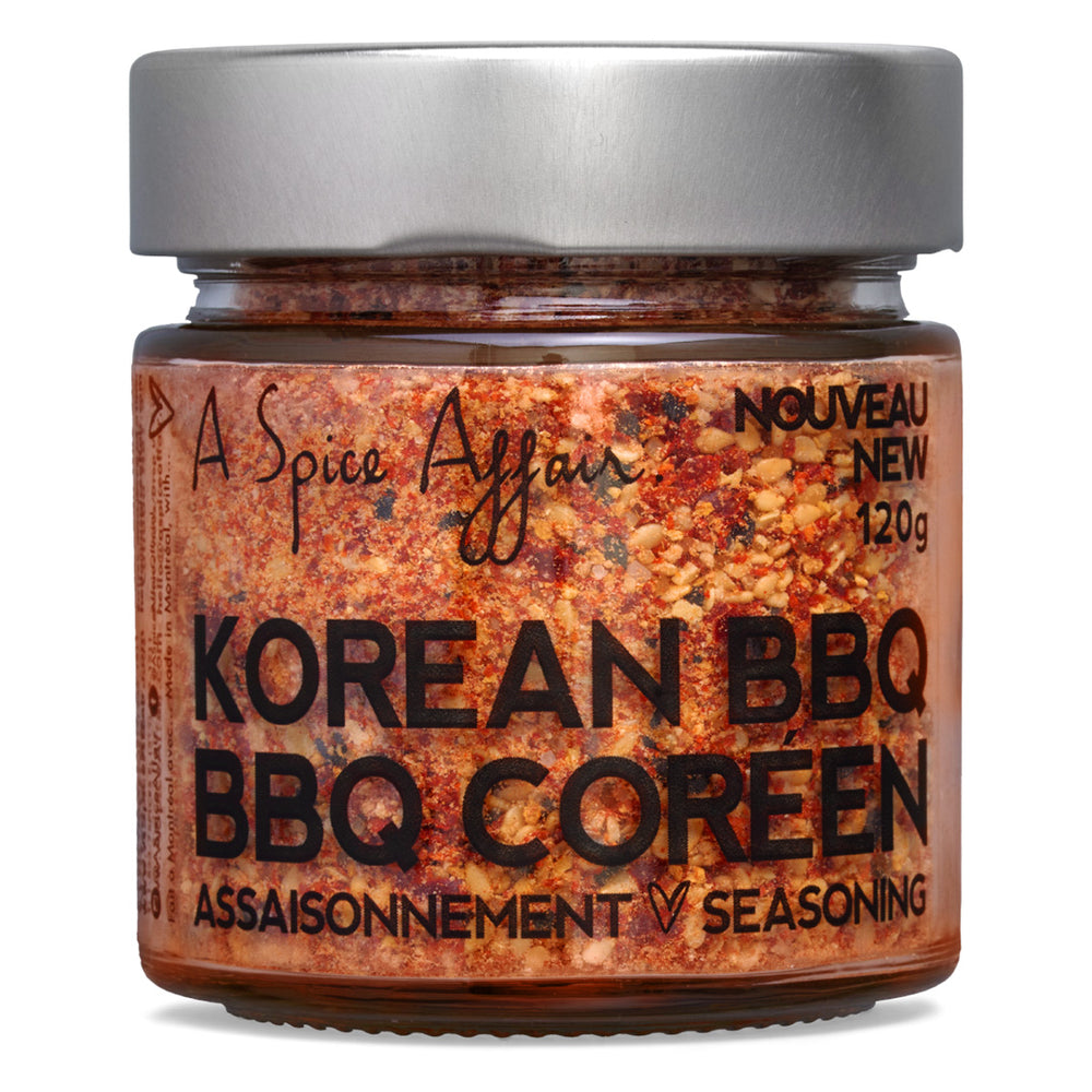 Assaisonnement BBQ coréen A Spice Affair. Pot de 120 g (4,2 oz)