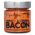 Assaisonnement Bacon à l'érable A Spice Affair. Pot de 120 g (4,2 oz)