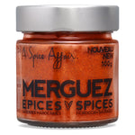 Merguez Spices (Moroccan Sausages) A Spice Affair. 100g (3.5 oz) Jar