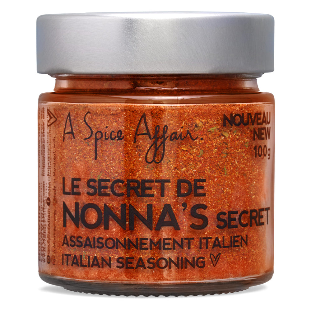 Nonna's Secret Italian Seasoning A Spice Affair. 100g (3.5 oz) Jar
