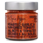 Roasted Garlic & Sun-dried Tomato Seasoning A Spice Affair. 120g (4.2 oz) Jar