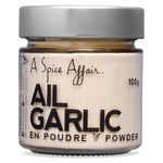 Garlic Powder A Spice Affair. 100g (3.5 oz) Jar