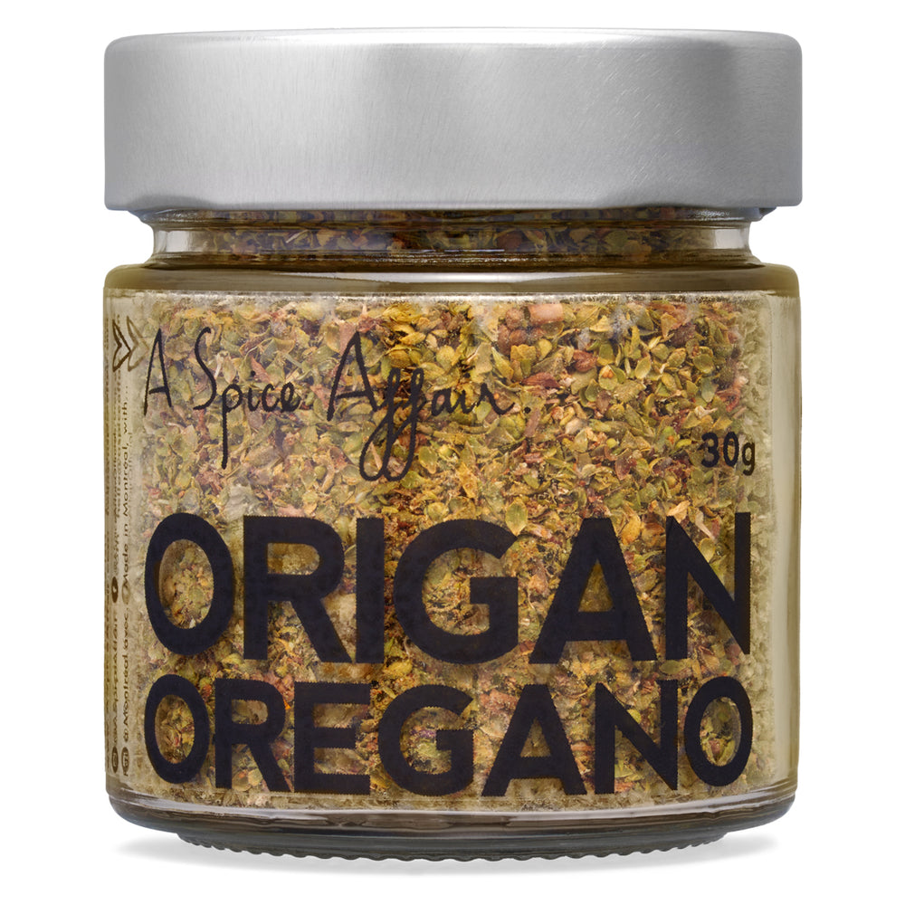 Origan râpé A Spice Affair. Pot de 30 g (1,1 oz)
