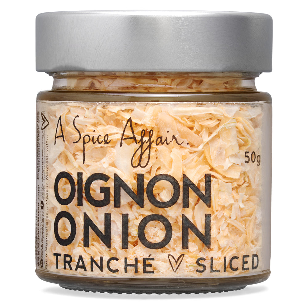 Onion Slices A Spice Affair. 50g (1.8 oz) Jar