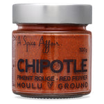 Chipotle moulu A Spice Affair. Pot de 100 g (3,5 oz)