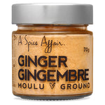 Gingembre moulu A Spice Affair. Pot de 70 g (2,5 oz)