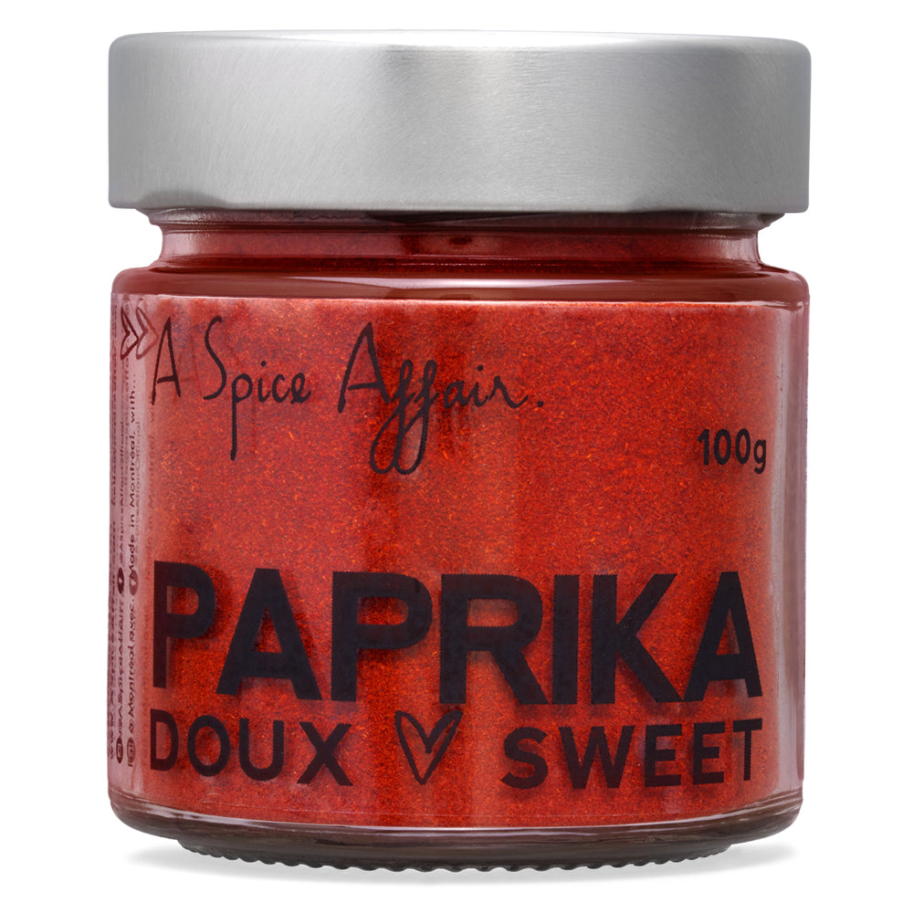 Paprika A Spice Affair. Pot de 100 g (3,5 oz)