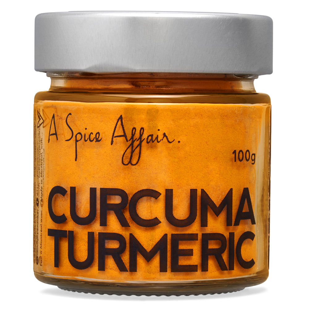 Turmeric Ground A Spice Affair. 100g (3.5 oz) Jar