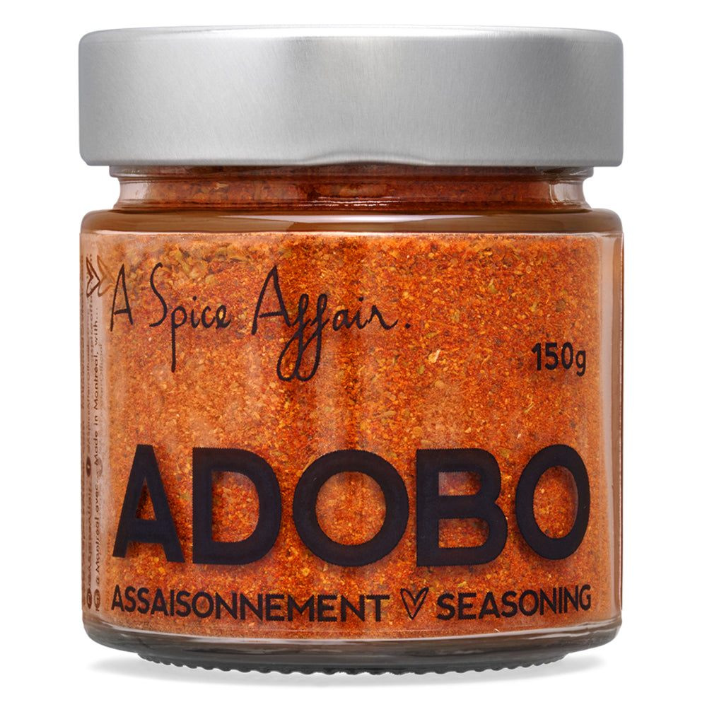 Assaisonnement Adobo A Spice Affair. Pot de 100 g (3,5 oz)