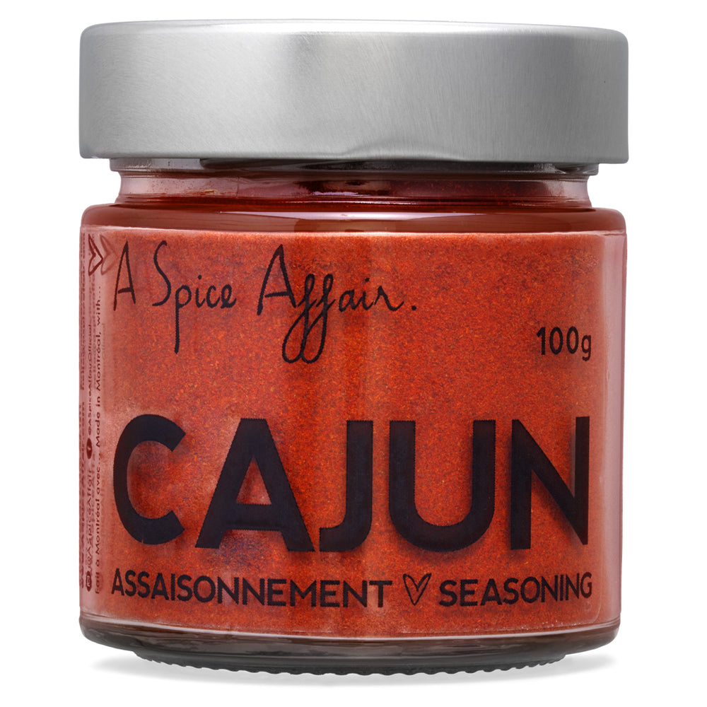 Cajun Seasoning A Spice Affair. 100g (3.5 oz) Jar