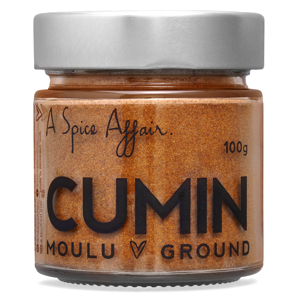 Cumin moulu A Spice Affair. Pot de 100 g (3,5 oz)