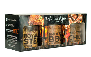 Grill King 3-pack Spice Set - A Spice Affair. 320g (11.3 oz)