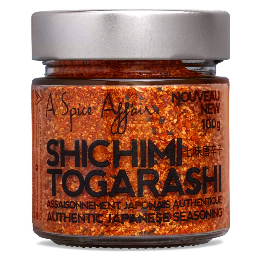 Shichimi Togarashi Seasoning A Spice Affair. 100g (3.5 oz) Jar