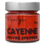 Cayenne Pepper A Spice Affair. 100g (3.5 oz) Jar