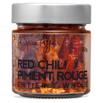 Piment rouge entier piquant A Spice Affair. Pot de 20 g (0,7 oz)