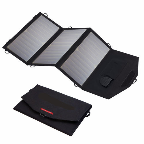 21 watt - Portable Solar Panel Charger - USB(5V) & 18V DC output