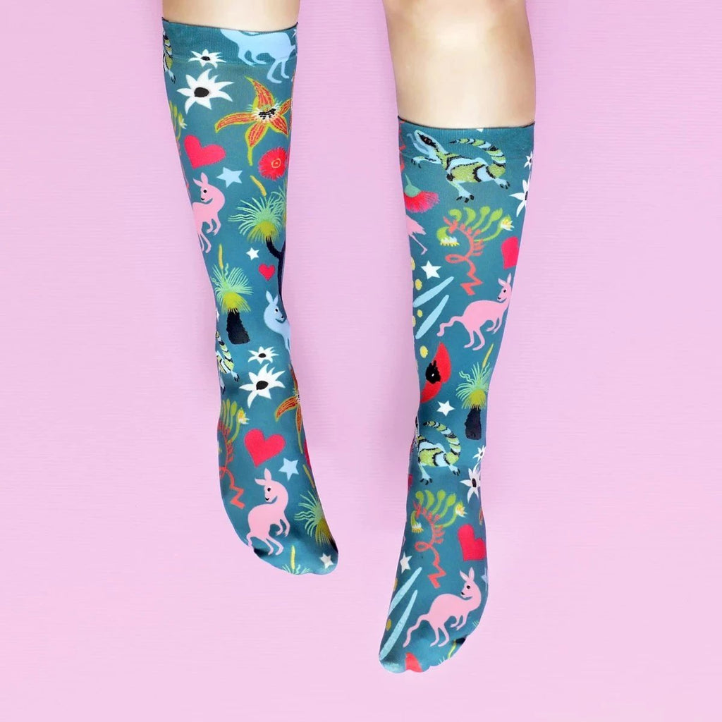 BUSH JAMBOREE SOCKS - GREEN