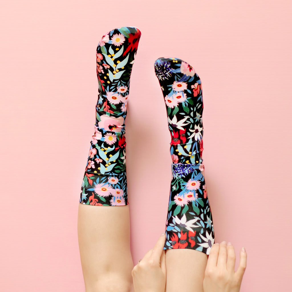 FLOWER DANCE SOCKS