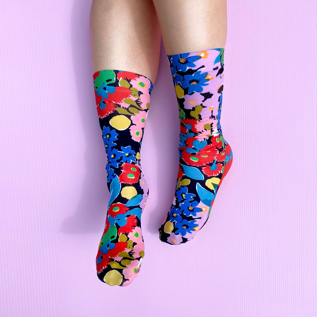 BUSH BLOOM SOCKS