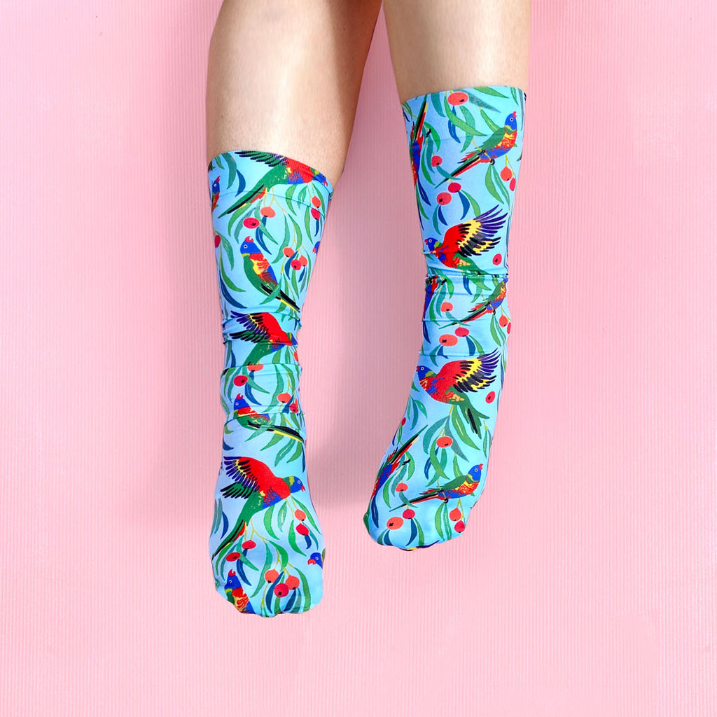 LORIKEET SOCKS