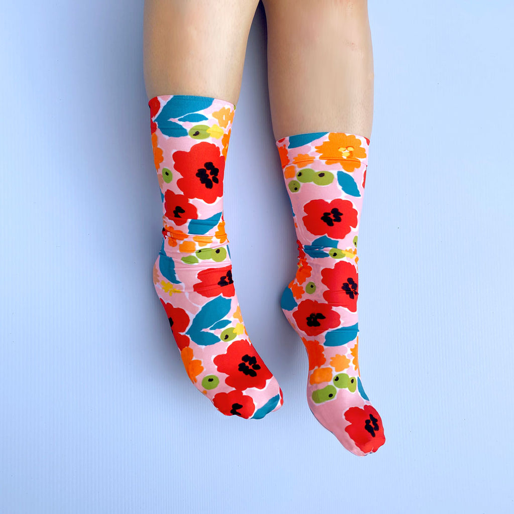 TROPICAL GARDEN SOCKS