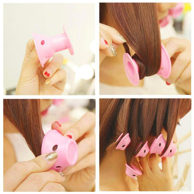 Lockenwickler Roller, Magic Hair, Pink - lebentop