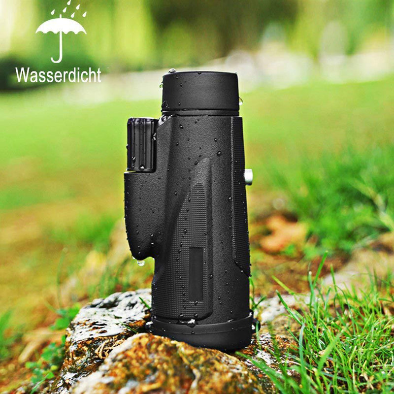 Monocular Telescope, 12x50 High Power wasserdichtes Fogproof - lebentop