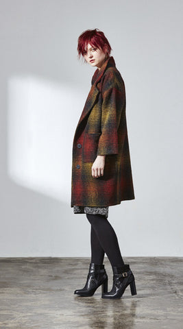 FW  Kate Coat Plaid