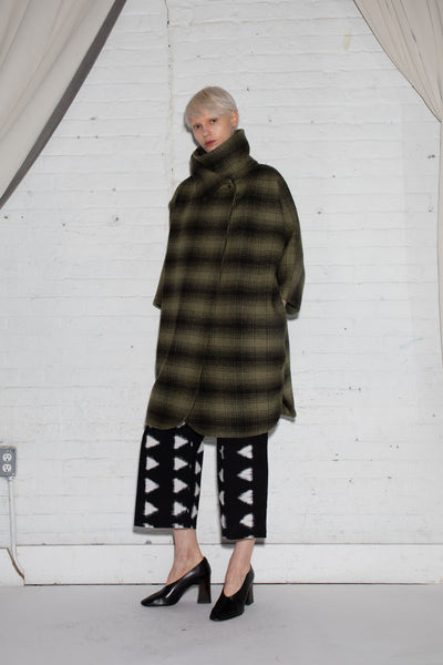 CAROL COAT PLAID