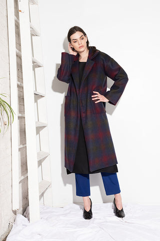 CATO COAT PLAID