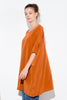 TUNIC DRESS RUST