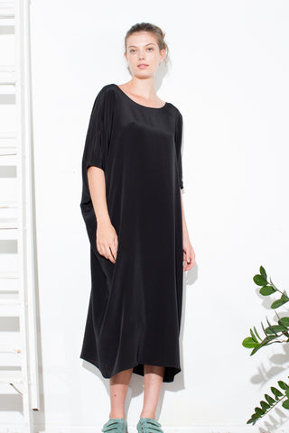 * TUNIC DRESS BLACK/ LONG