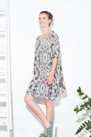 * TUNIC DRESS STUDIO PRINT