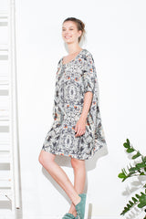 SS16 Twigs Lino Dress
