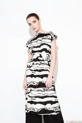 TIE DRESS STRIPE