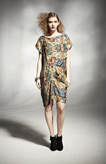 KANTHA WRAP DRESS