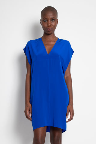 LARA TUNIC DRESS BLUE