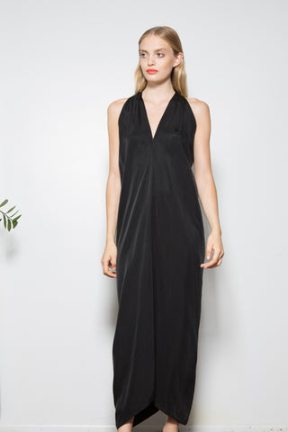 ** SIREN DRESS BLACK