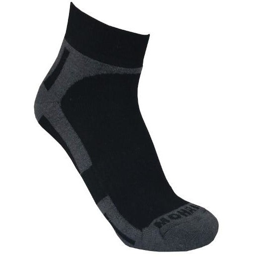 Mohair Men's Charcoal Sports Sock - St Albans