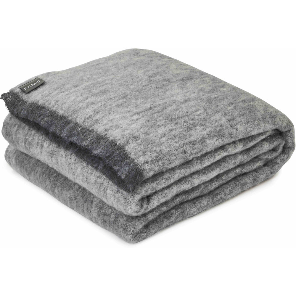Alpaca Granite Throw Blanket - St Albans