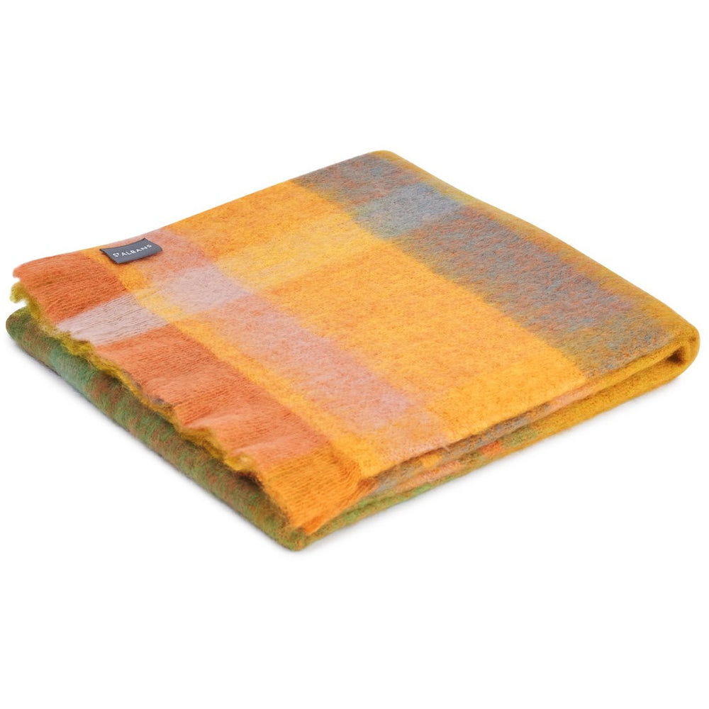Mohair Marigold Throw