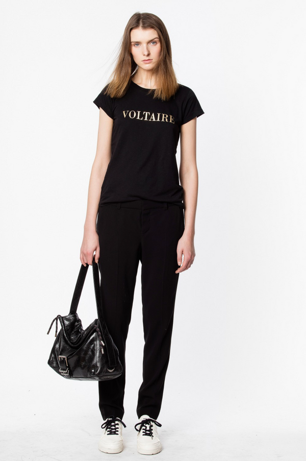 [Zadig&Voltaire] 쟈딕앤볼테르 티셔츠 T-SHIRT SKINNY VOLTAIRE