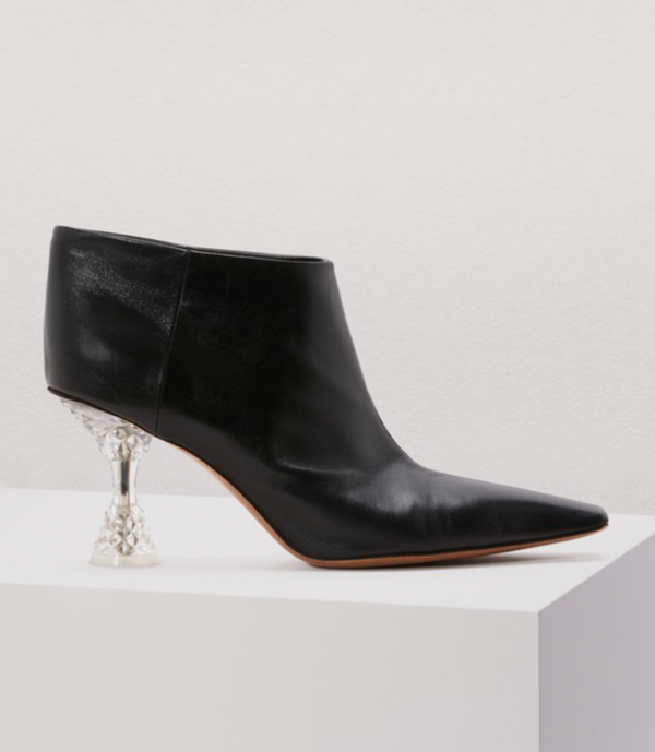[CELINE] 올드셀린느 앵클부츠 (Bottine Facetted heel en chevreau)