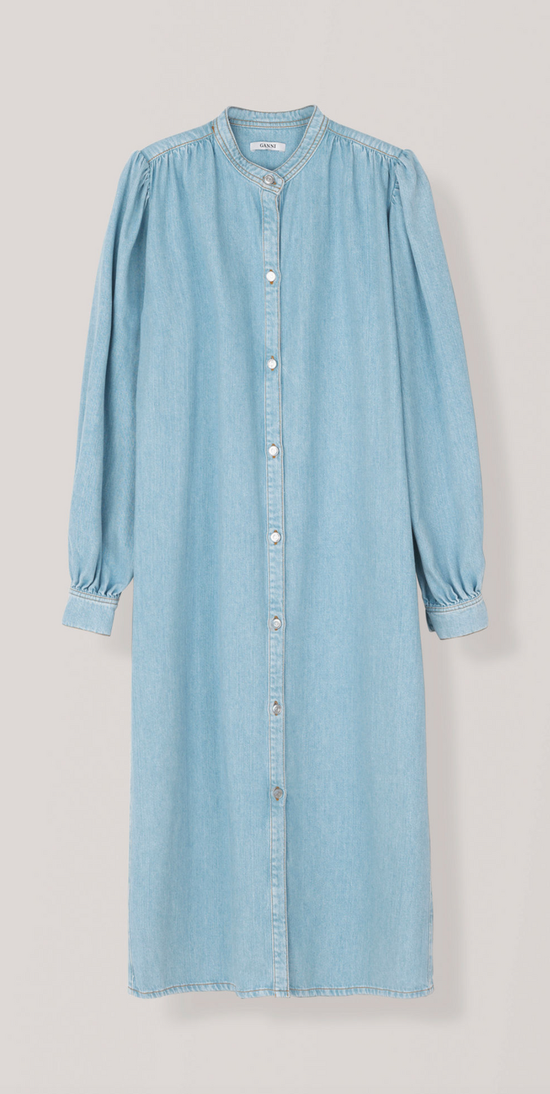 [GANNI] 가니 원피스 (SOFT DENIM DRESS)