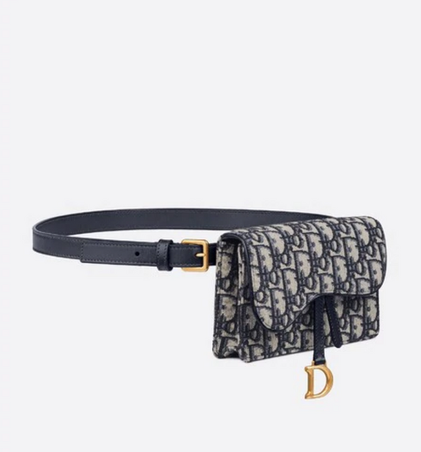 [DIOR] 디올 포셰트 새들백 (POCHETTE SADDLE DIOR OBLIQUE) / 2색상