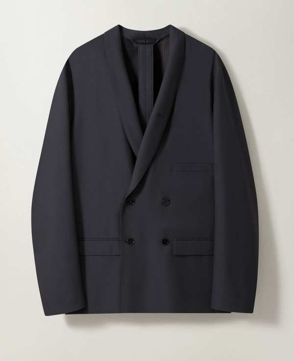 [LEMAIRE] 르메르 자켓 (Belted double breasted jacket)
