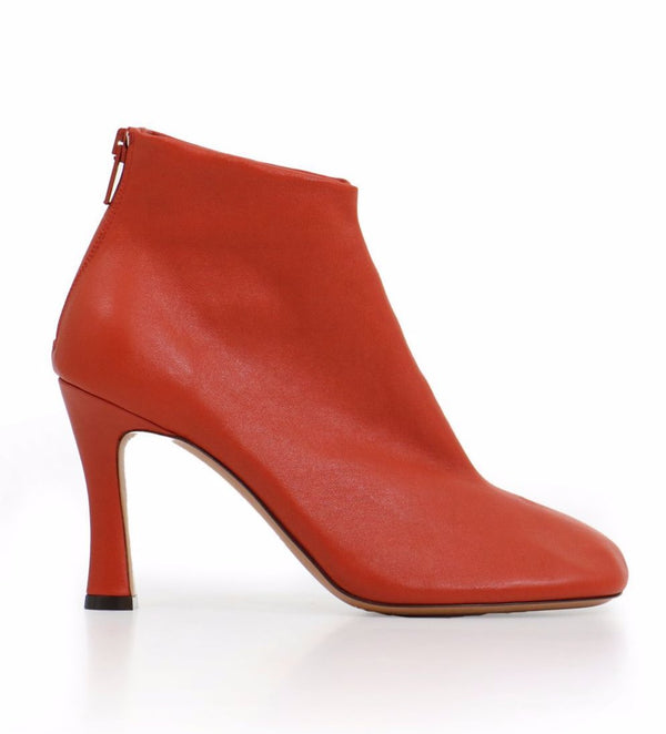 [CELINE] 올드셀린느 글러브 부츠 (GLOVE BOOTS BOOTIES RED STRETCH LEATHER)