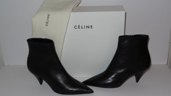 [CELINE] 올드셀린느 앵클부츠 (Soft Lambskin Leather Ankle Boots/Booties)