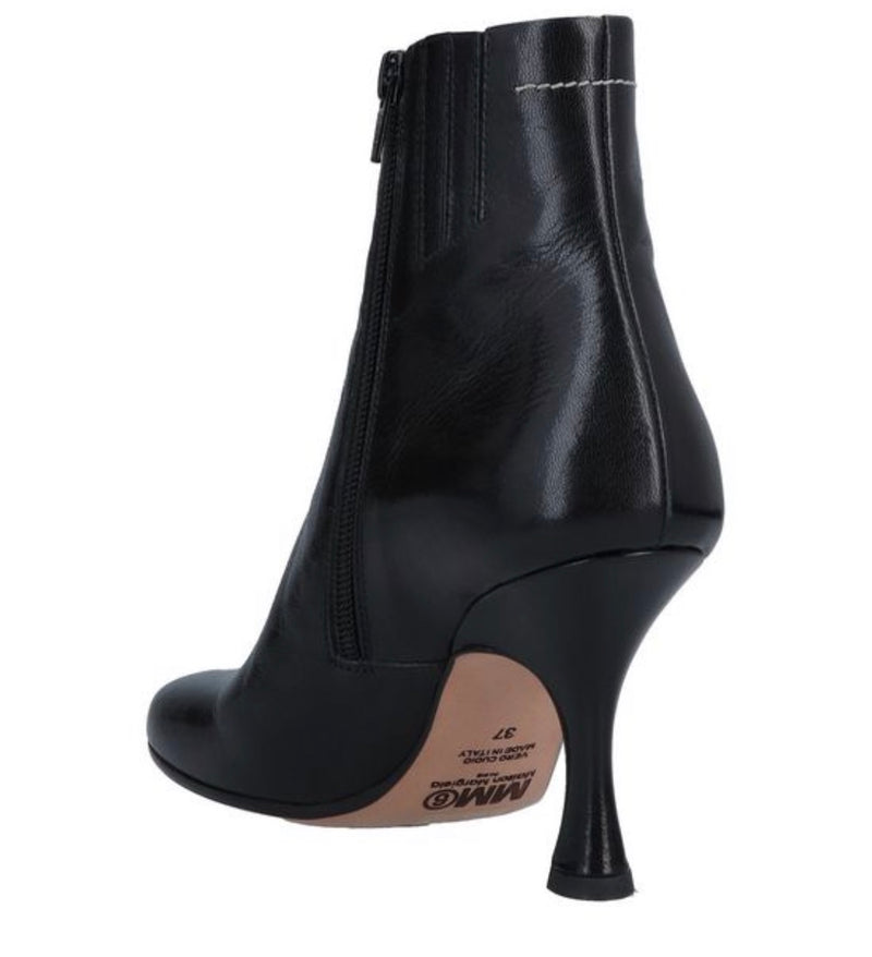 [MM6 Maison Margiela] MM6 메종 마르지엘라 Bottines en cuir à talon